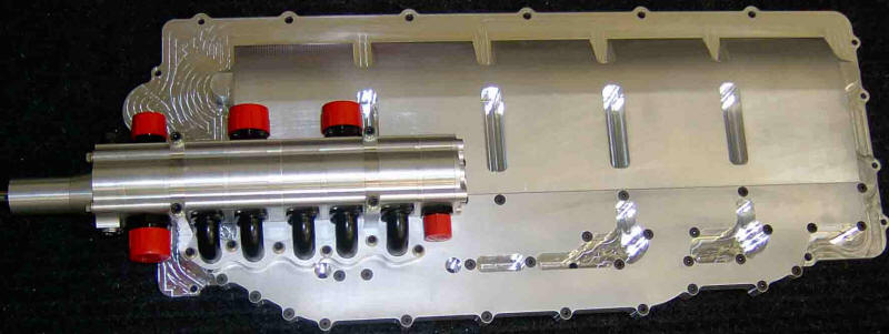 Dry Sump system for the Dodge Viper engine with airco pump